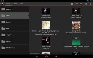 Screenshot of MediaSteersman UPnP