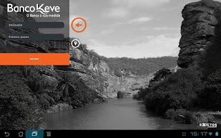 Screenshot of Keve Tablet