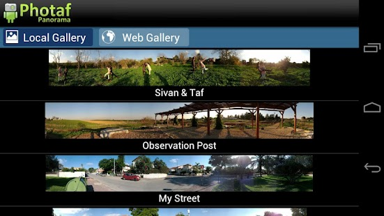 Photaf Panorama (Free) Screenshot