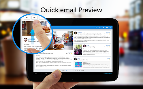 Molto – Email app. - screenshot thumbnail