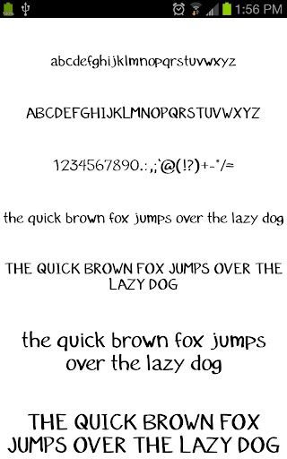 Fonts for Galaxy FlipFont Free 3.23.0 screenshots 1