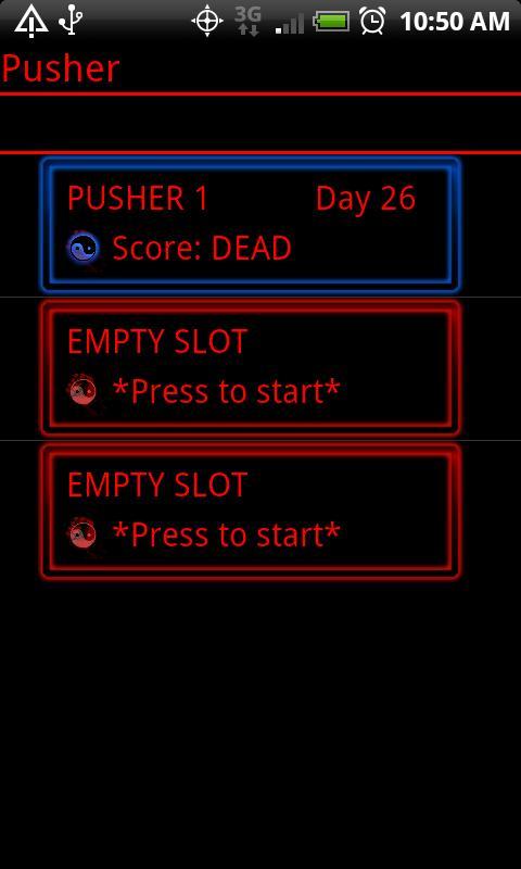 Pusher - screenshot