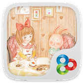Afternoon tea GOLauncher Theme
