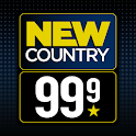 New Country 99.9 Radio icon