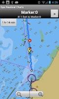Screenshot of Marine/Nautical Charts-UK/IRL