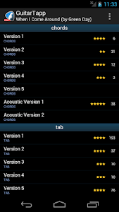 GuitarTapp - Tabs & Chords screenshot 1