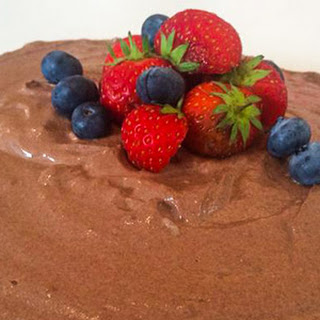 Post-Workout Chocolate Protein Cheesecake.
