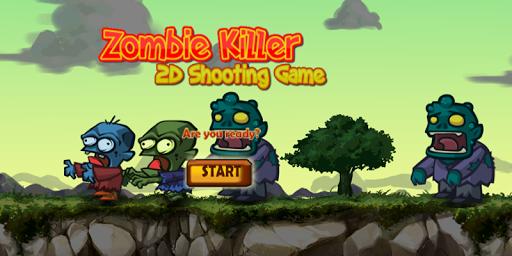 Zombie Killer 2d Shooting Game