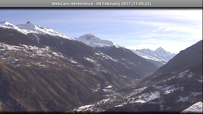 Webcam Hérémence- screenshot