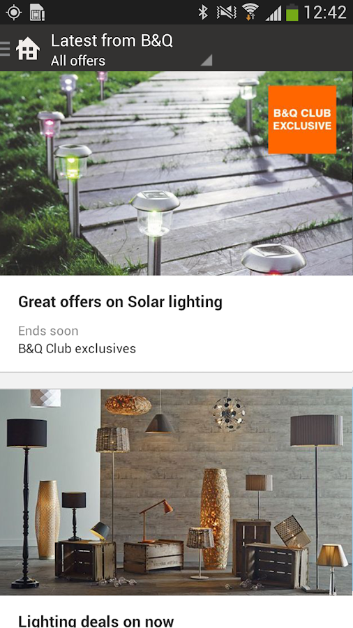 B&Q - screenshot