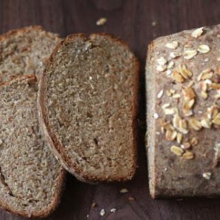 Honey Oat Whole Wheat Loaf Recipe