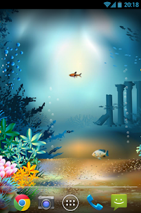 Underwater World Livewallpaper - screenshot thumbnail