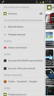 FAQsAndroid - screenshot