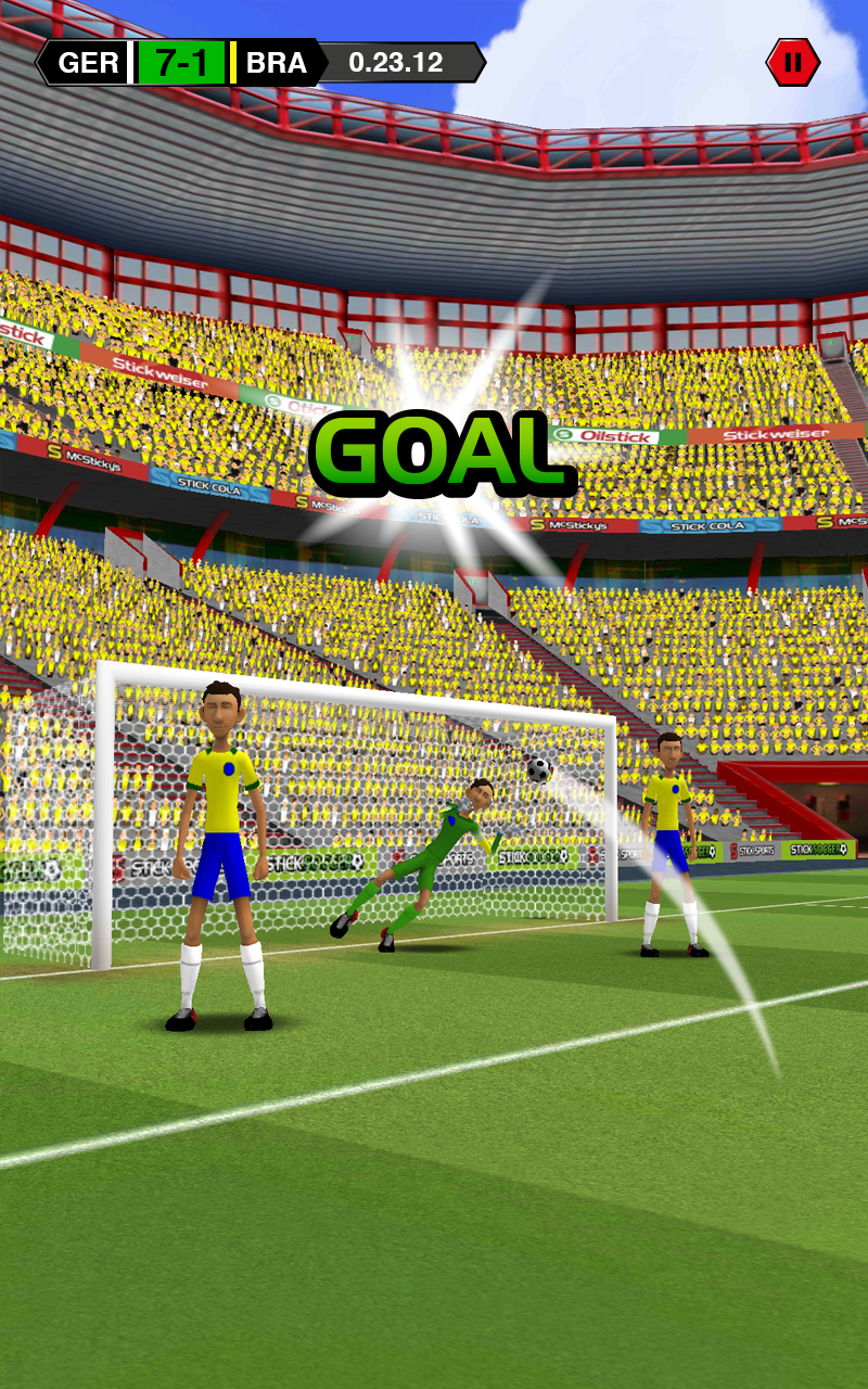Stick Soccer screenshot #11