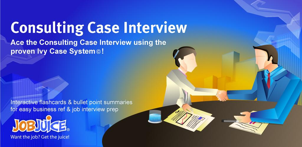 it consultant case study interview Case study interview questions about the decision process how did you hear about our product how long had you been looking for a solution to this problem case study interview questions about the customers' future goals what are the biggest challenges on the horizon for your industry.