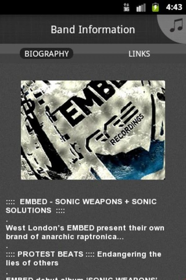 EMBED - screenshot