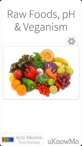 Raw Foods pH and Vegan Diet