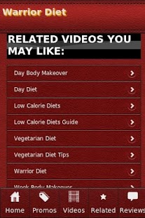 Warrior Diet - screenshot thumbnail
