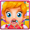 Baby Lizzie Dentist Games icon