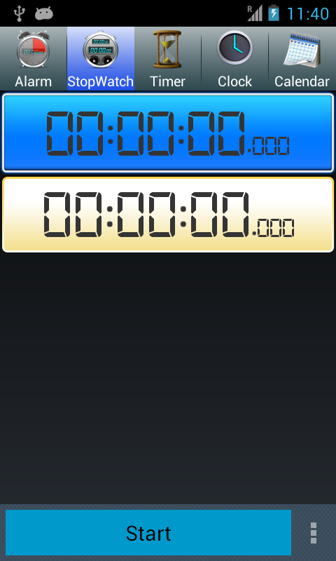 Alarm&StopWatch&Timer&Clock - screenshot