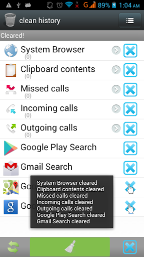 History Clear Privacy Clean 1.15 screenshots 5
