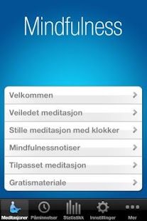 Mindfulness Appen NOR - screenshot thumbnail