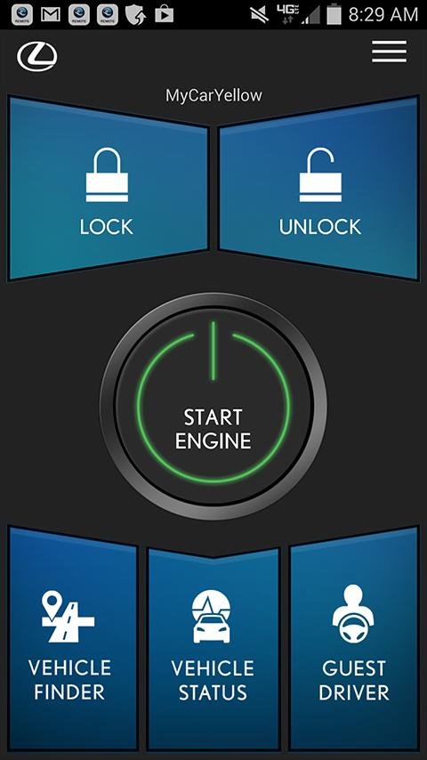 Lexus Enform Remote- screenshot