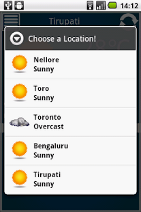 Weather Reporter - screenshot thumbnail