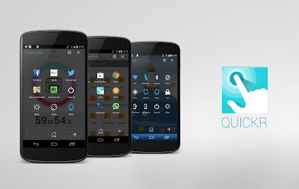 Quickr - Action Launcher Screenshot 1