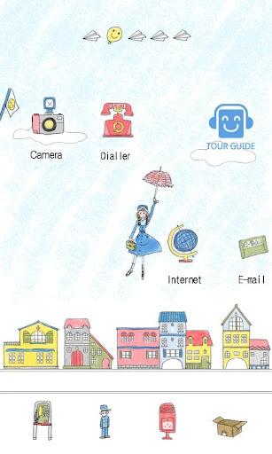 CUKI Theme Umbrella Girl