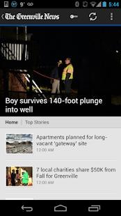 The Greenville News- screenshot thumbnail