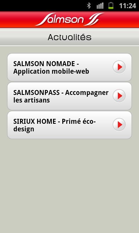 Salmson Nomade– Capture d'écran