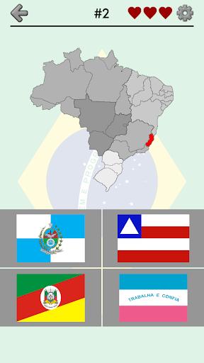 Brazilian States - Quiz Flags