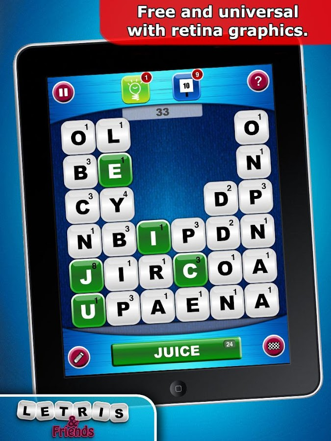 Letris & Friends: Word game- screenshot