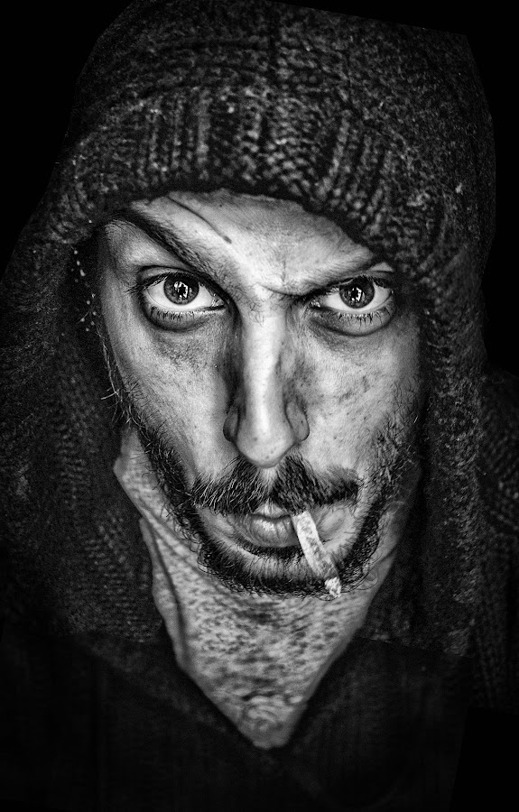 La Haine by Marianna Rous - People Portraits of Men