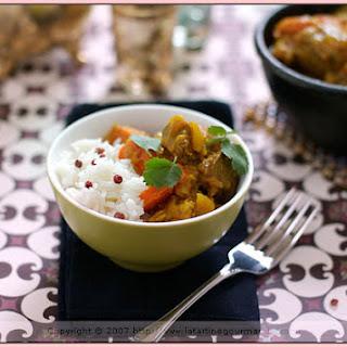 Mild Indian Lamb Curry