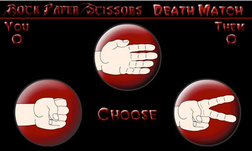 RockPaperScissors Death Match