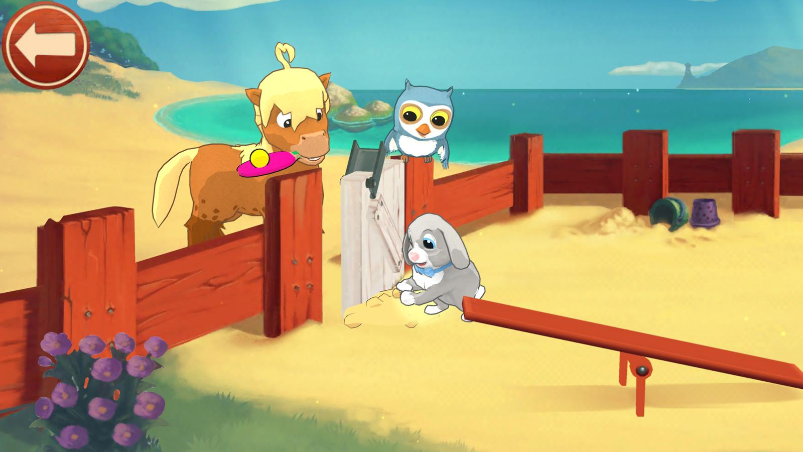 Peppy Pals Beach - Friendship– skärmdump