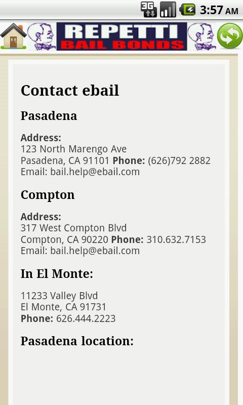 Repetti Bail Bonds - screenshot