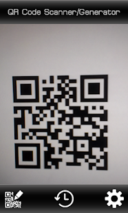 QR Code Scanner/Generator - screenshot thumbnail