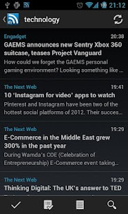 D7 Reader (RSS | News) - screenshot thumbnail