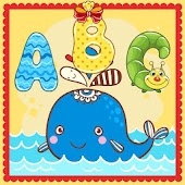 Animlas ABC Coloring for Kids