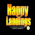 Happy Landings BETA logo