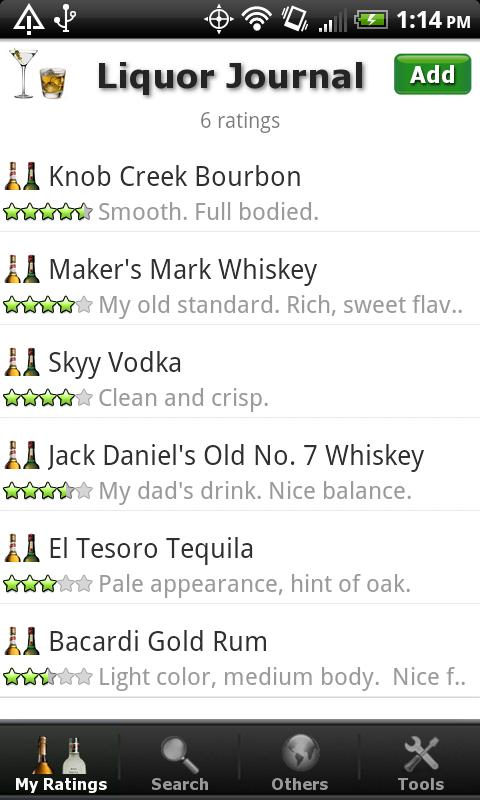 Liquor + (Whiskey Vodka Rum..) - screenshot