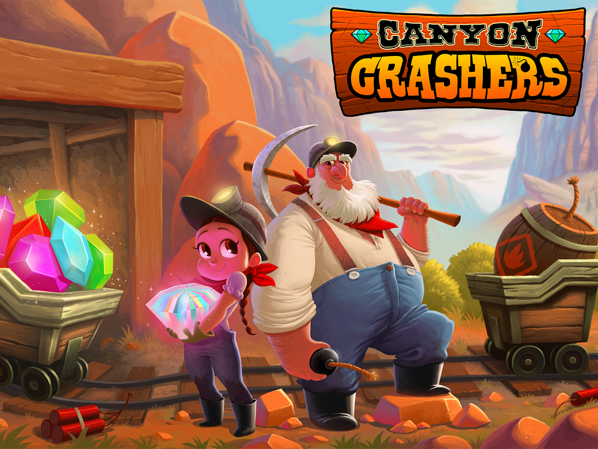 Canyon Crashers- screenshot