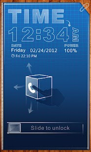 SketchX GO Locker Theme - screenshot thumbnail