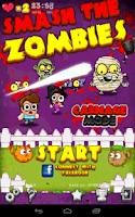 Screenshot of Zombie vs Finger
