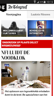 De Telegraaf- screenshot thumbnail
