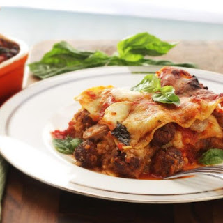Lasagna Napoletana (Lasagna With Sausage, Smoked Cheese, and Meatballs)