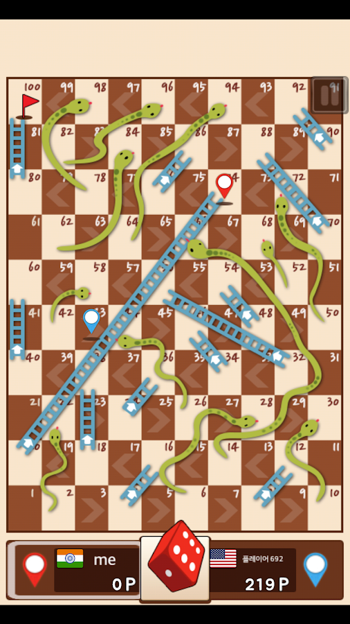 Snakes-Ladders-King 24